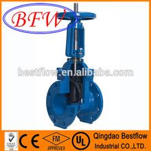 DIN rising stem gate valve