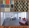 ZNZ woven pvc flooring roll/commercial floor for hotel