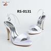Alibaba China High heel lady wedding sandals shoes