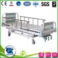 Marco de aluminio de la cabeza/pie mecánica junta cama de hospital
