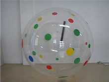 Newest commercial durable material color dots water ball
