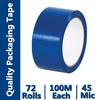 bopp film blue adhesive tape for carton box