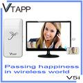 vtapp 2014 nueva llegada smartcast v5i dongle de alimentación de ca del cable para tv