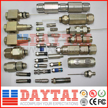 Hot Sale CATV F/BNC Type Connectors Made in China Suitable for RG 59, RG 6, BNC Coaxial Cable