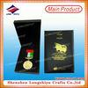 Military world endurance championships award medal with UAE sport medal hanger