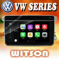 WITSON auto radio dvd gps for VW TOURAN (2003-2011) Unique New Flat Panel Design