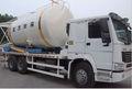 Sec - mixte mortier réservoir camion