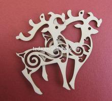 plywood laser cut Christmas ornament Decoration