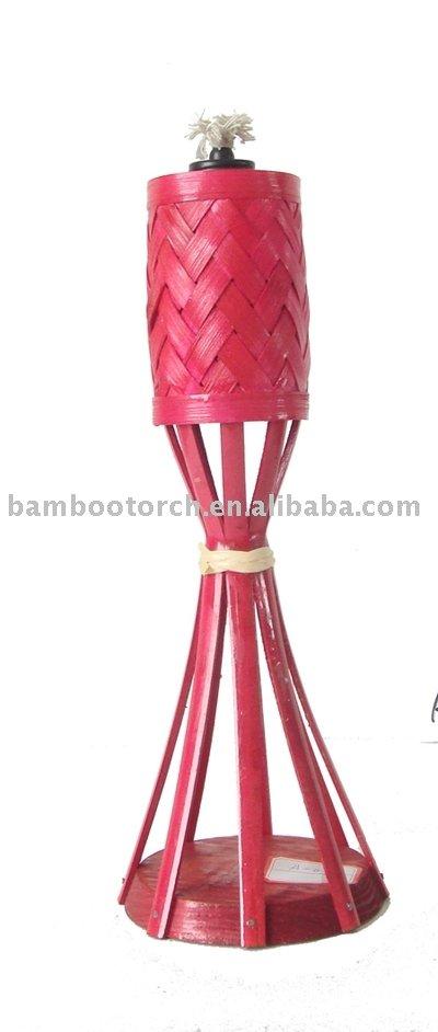 Tiki antorcha de bamb jard n de bamb de la antorcha for Antorcha para jardin