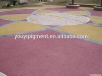 factory iron oxide pigment for colored concrete