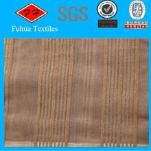 100% Polyester Jacquard Blackout Curtain Fabric Dustproof Fire Retardant