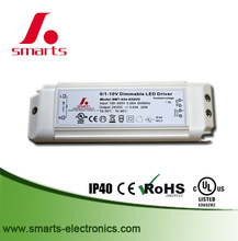 20W Constant Voltage 24V dimmable led driver IP40