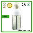 Waterproof ip64 Ra80 high quality light lamp bulb 24w e40 led corn light