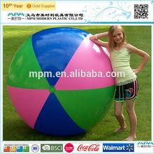 lovely design, pvc free beach ball, inflatable beach ball girls