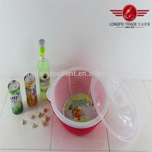 2014 hot sales plastic food basket with lid
