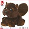 black eye stuffed aquirrel toy kids plush squirrel toy