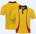 Custom 100% poliéster hombres sublimada camisa estilo polo
