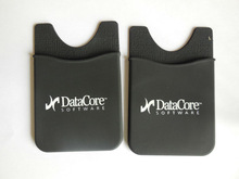 OEM brand id card holder silicone