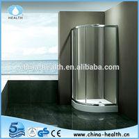6mm Tempered Glass Round Shower Door Parts JK2046