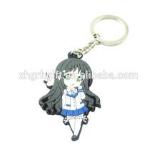 promotion sexy girl pvc key chain
