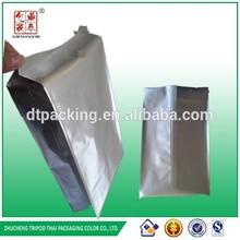 Color Plastic Bellows Bag,Accordion Pocket for Pack /aluminum foil food packaging bag/moisture proof heat seal aluminum foil bag