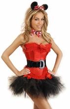 2014 Sexy hot mujer trajes del vestido de hawaiano del tema trajes del partido