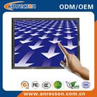 4:3 open metal frame touch screen monitor DVI HDMI
