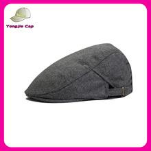 Unisex High quality Wool felt Gatsby Fashion Cabby Driving newsboy men women's duckbill ivy cap