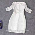 weiß spitzenkleid