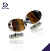Delicate beauty oval shape cufflink box wholesale