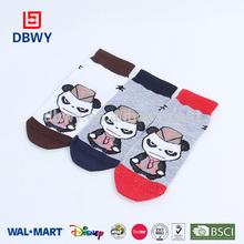 Multi color de dibujos animados patrón de zapatos de bebé calcetines
