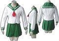 2014 nueva llegada de más polular de escuela encantadora grilinuyasha venta al por mayor de vestuario de kagome higuras traje de cosplay/uniforme
