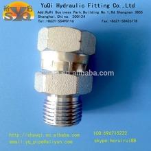 BSPP male/ female swivel thread hydraulic union coupling