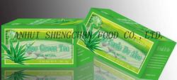 Aloe Green Tea Bag Organic green tea