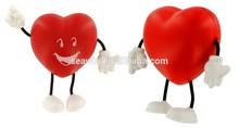 Gift PU Foam Stress Toy Heart Figure