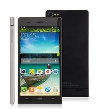 Original smart phone 6 inch IPS 1280x720 MTK6589 Quad Core 1.3 GHz 8.0MP Camera Dual Sim Bluetooth GPS