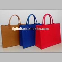 Classical Fashion design colorful felt shoulder bags