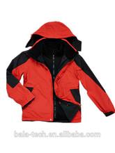 winter heated outdoor running jacket apparel for man