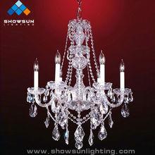 Wholesale crystal chandelier for wedding decorative