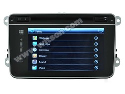 "WITSON VOLKSWAGEN PASSAT dvd player With 7"" Capactive Screen No Button Front Panel Design RDS/USB/MPD Support"
