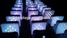 9*3w RGB 3in1 entertainment lighting /LED slim par can /Pro LED uplighting