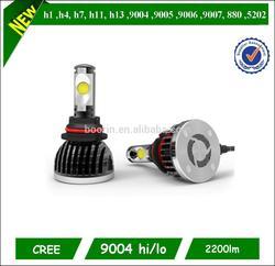 led bulb for car h1 ,h3,h4 ,h7 ,h8,h9,h10,h11, h13 ,9004 ,9005, 9006 ,9007, 5202 12v 8w led car bulb