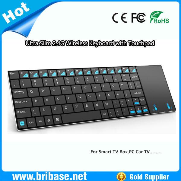 Ultra Slim 2.4G wireless Mini cheap wireless mouse and keyboard