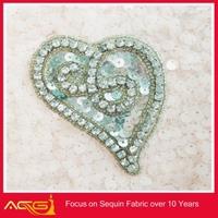 fashion jewelry bridal embroidery applique on wedding card felt applique patterns