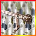 la decoración de color anodizado de aleación de aluminio de extensión de cortina de ducha de rod