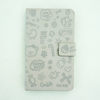 printing leather case for phone, hot selling wallet case for mobile phone