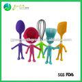 حار بيع الأغذية الصف الملونة الجملة هدية مجموعة اكسسوارات المطبخ سيليكون