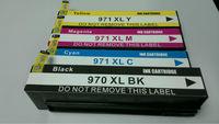 high quality ink cartridge for hp 970 xl BK/C/X/Y
