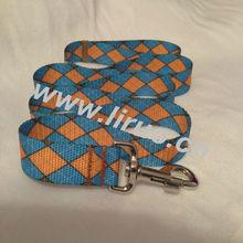 Soft jacquard nylon dog lead