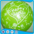 شكل مخصص بالونات عيد ميلاد سعيد هدية داخل الصور